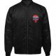 Confederate Punisher Black Bomber Jacket