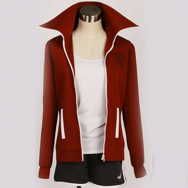 Danganronpa Aoi Asahina Anime Cosplay Costumes Jacket