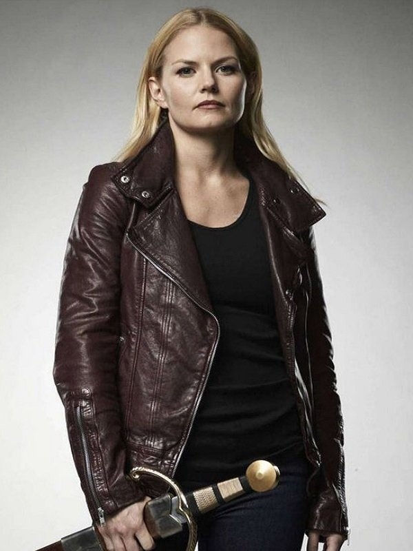Emma Swan Brown Leather Jacket