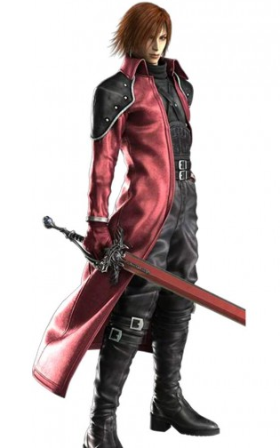 Final Fantasy Genesis Rhapsodos Trenchs Leather Coat