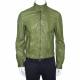 Giorgio Armani Green Leather Jacket