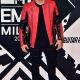 H&M X Balmains Leather Jacket