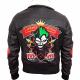Harley Quinn Bombshell Leather Jacket
