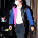 Justin Bieber Tricolor Leathers Jacket