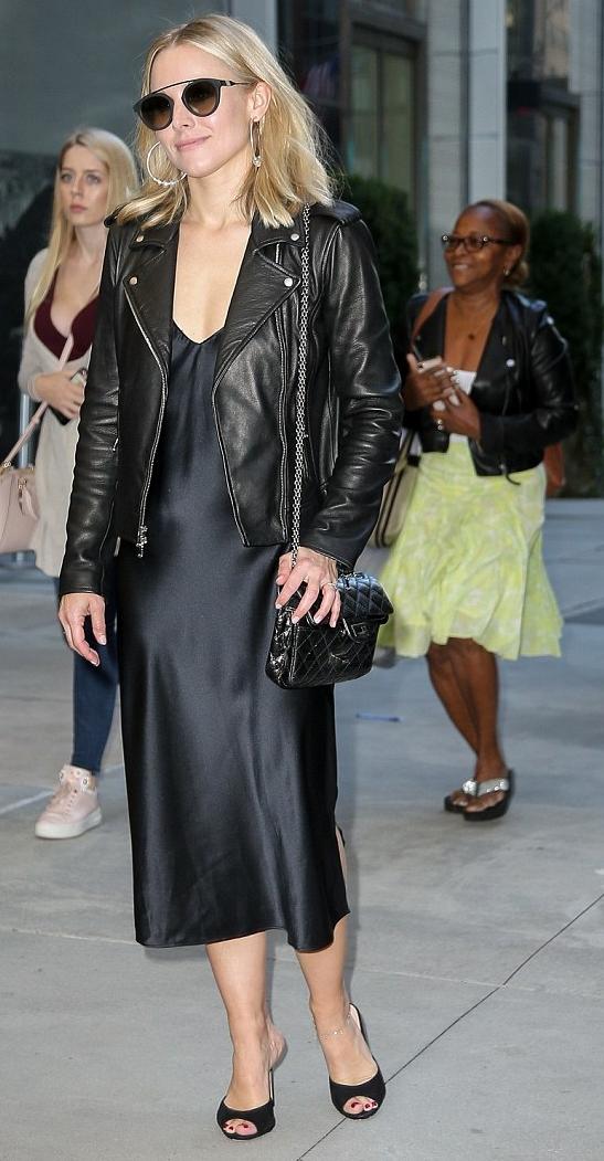Kristen Bell Leather Jacket