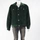 Men's Vintage Dark Green Velvet Jacket