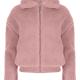 Older Girls Pink Teddy Jacket