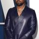 Oscar Party Kanye West Purple Blazer