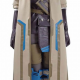 Overwatch Ana Costume Leather Coat