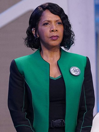 Penny Johnson Jerald The Orville Leather Jacket