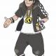 Pokémon Sun Moon Cosplay Guzma Jacket