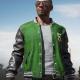 Pubg 5m Green Letterman Jacket
