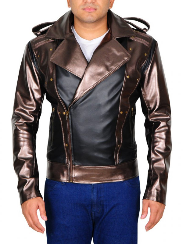 Quicksilver X Men Apocalypse Leather Jacket