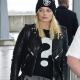 Stylish Margot Robbie London Airport Leather Jacket