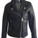 Topshop Black Biker Leather Jacket