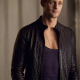 Alexander Skarsgard True Blood Quilted Leather Jacket