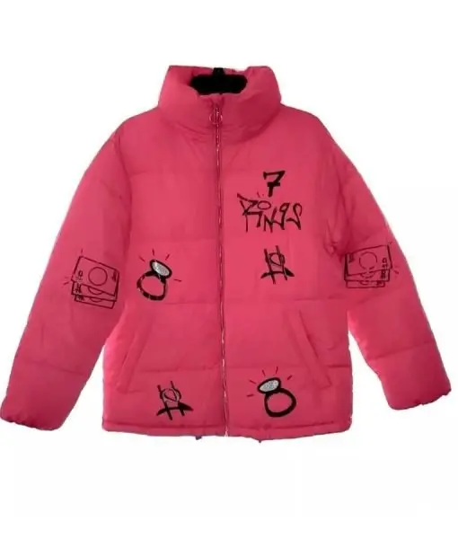 Ariana Grande 7 Rings Puffer Jacket