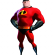 Bob Parr The Incredible 2 Leather Jacket