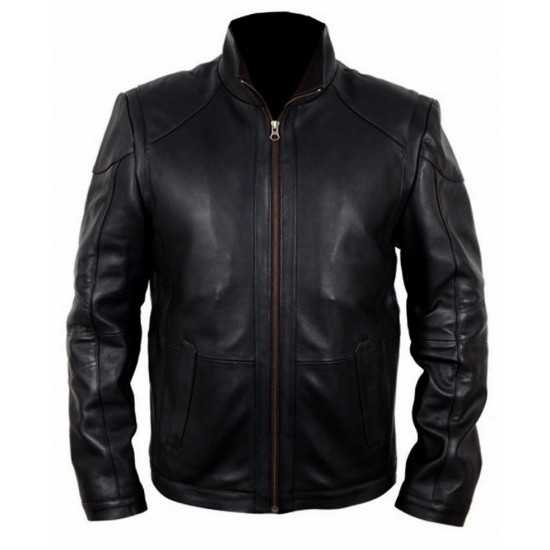 Bruce Willis Red 2 Frank Moses Leather Jacket