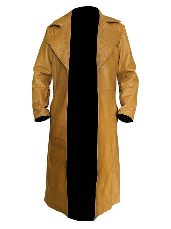 Channing Tatum Gambit Remy Lebeau Leather Trench Coat