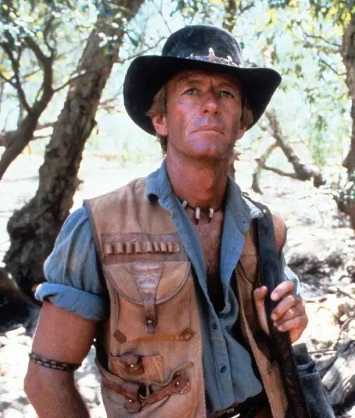 Crocodiles Dundee Paul Hogan Leather Vest