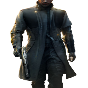 Deus Ex Mankind Divided Adam Jensen Leather Coat