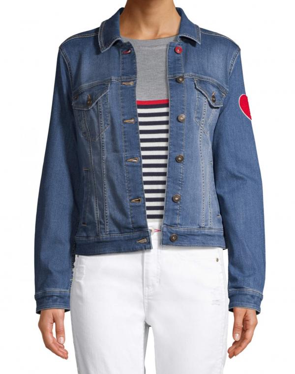 EV1 Ellens DeGeneres All For Love Denim Jacket