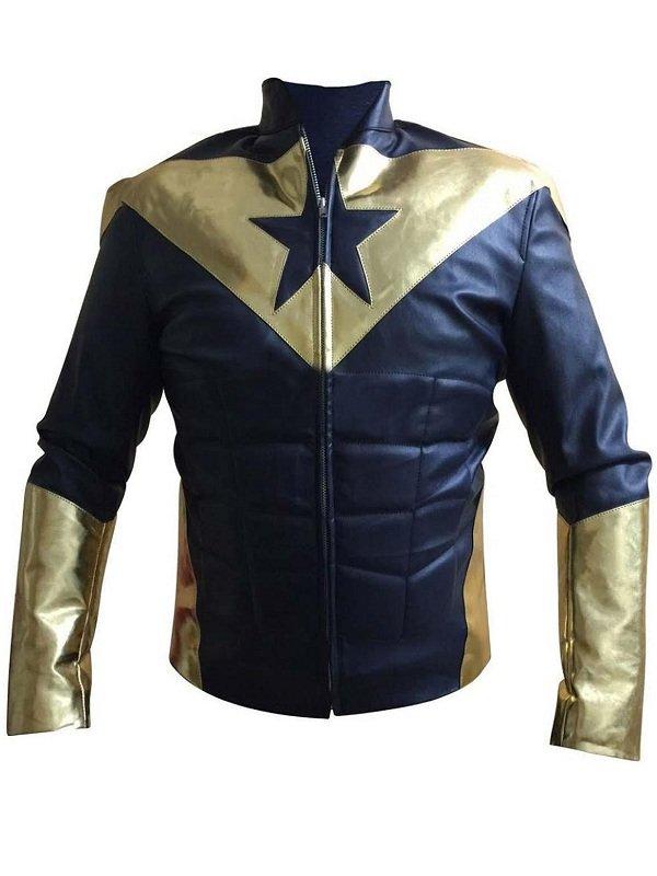 Eric Martsolf Smallville Leather Jacket