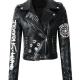 Eye Dare You Leather Jacket