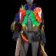 Gay Pride Rainbow Feathers Jacket