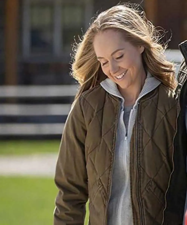 Heartland Amy Fleming Quilted Cotton Jacket
