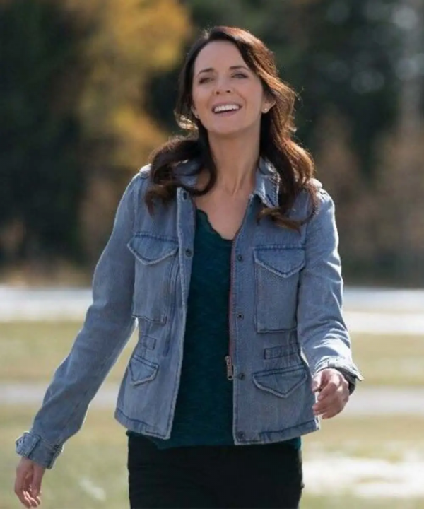 Heartland Lou Fleming Michelle Morgan Denim Jacket