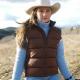 Heartland TV Series Amy Fleming Puffer Vest