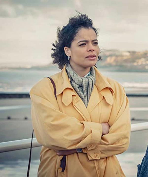 It's a Sin 2021 Jill Baxter TV Series Yellow Cotton Coat