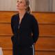 Jessalyn Gilsig TV Series Big Shot Holly Cotton Jacket