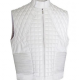 Justin Bieber White Leather Vest