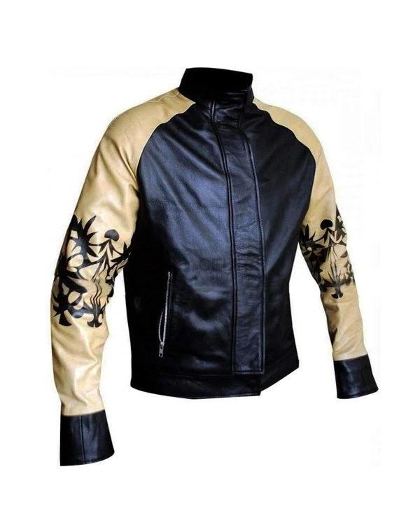 Kung Fury Cobra Hoff 9000 Bomber Leather Jacket