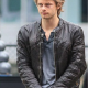 Luke Mitchell The Tomorrow Peoples Leather Jacket