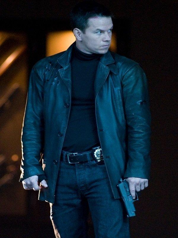 Max Payne Mark Wahlberg Leather Jacket