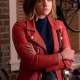 Pretty Little Liars Aria Montgomery Leather Jacket