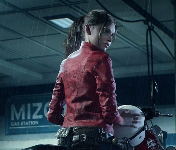 Resident Evil 2 Remake Claires Redfield Leather Jacket