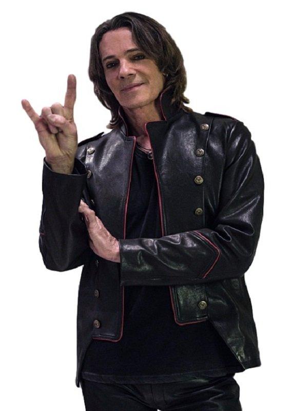 Rick Springfield Supernatural Series Leather Jacket