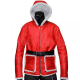Santa Claus Christmas Costume Jacket
