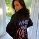 Selena Gomez I Voted Black Hoodie