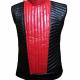 Shinsuke Nakamura Red Black Leather Vest