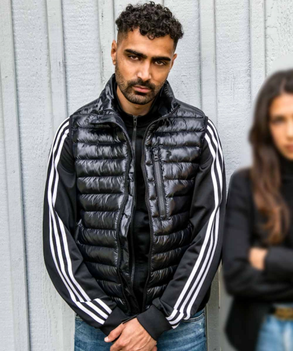 Snabba Cash Salim TV Series Puffer Vest