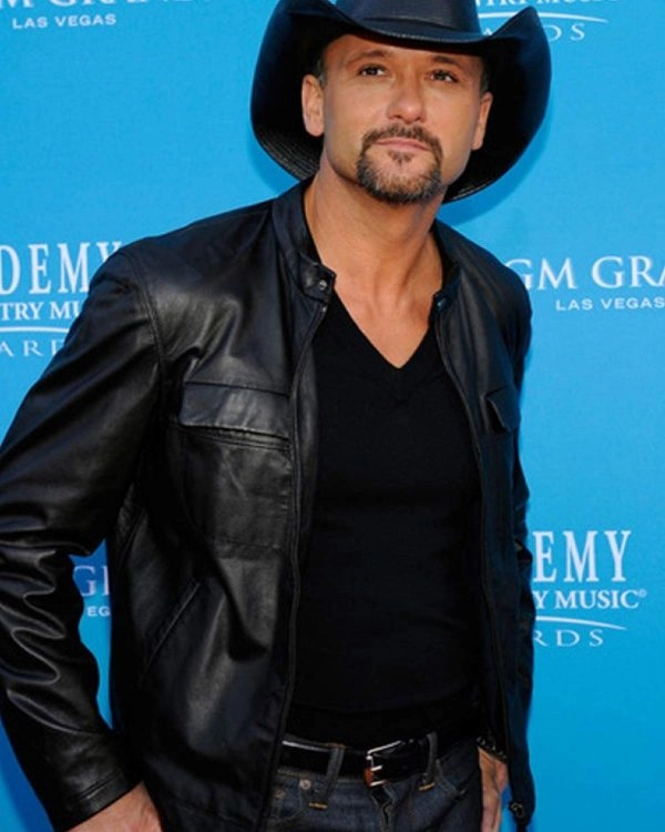 Southern Voice Tim Mcgraw Leather Jacket