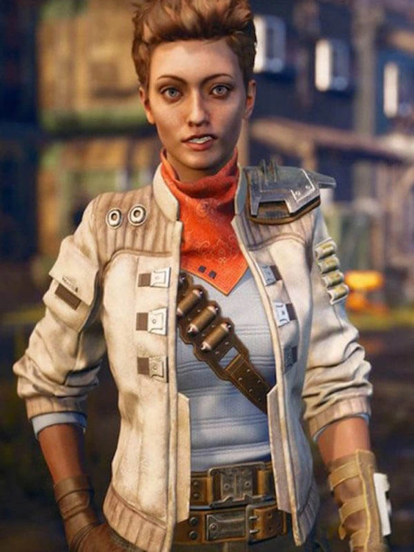 The Outer Worlds Ellie Leather Jacket