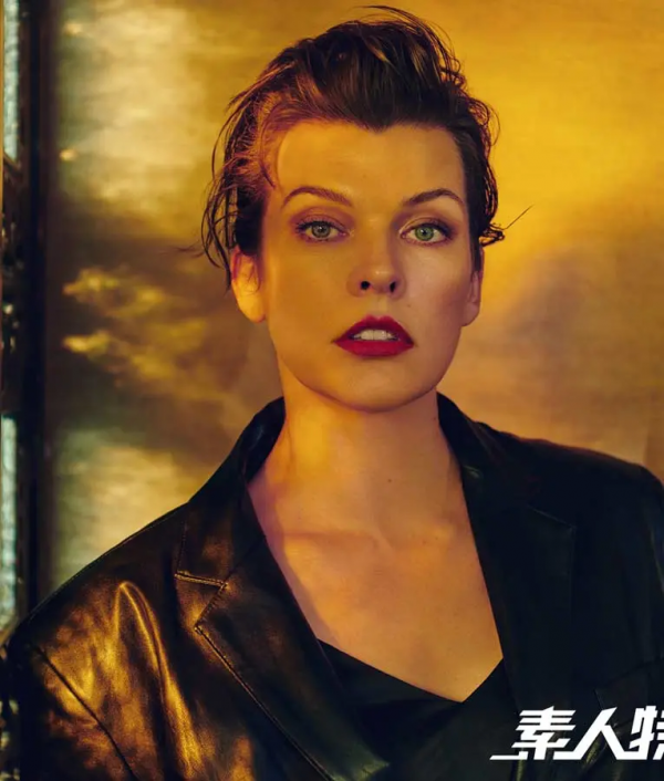 The Rookies Millas Jovovich Black Leather Blazer
