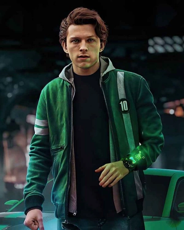 Tom Holland Ben 10 2021 Fleece Jacket